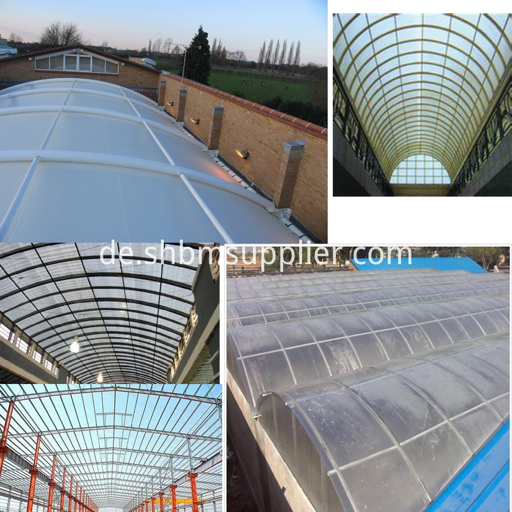 Sun light FRP Roof
