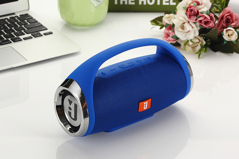 New-Arrival Wireless Bluetooth Fabric Portable Vehicle-Mounted TF Card Two-Horn Speaker