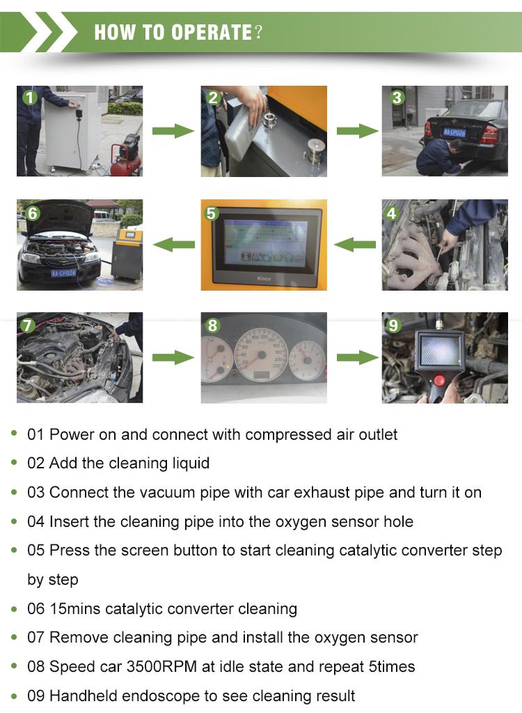 Car Fuel System Catalyst Motor Carbon Cleaner