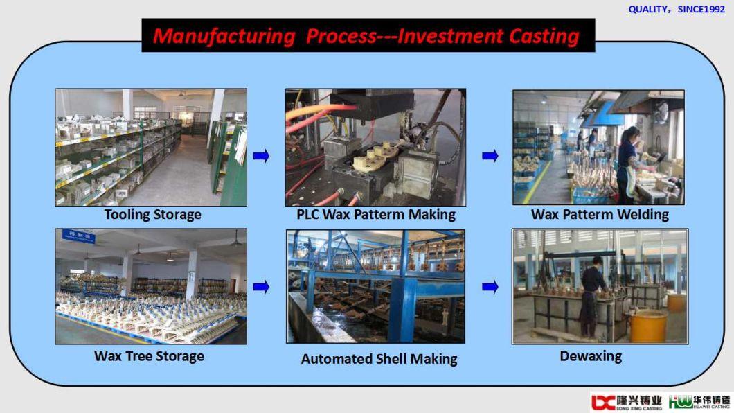 OEM Machining Precision Investment Steel Casting Parts