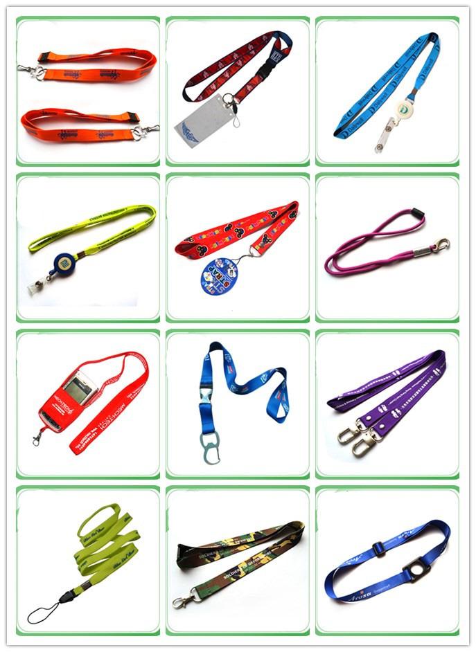 High Quality Custom Braided Knitting Lanyards