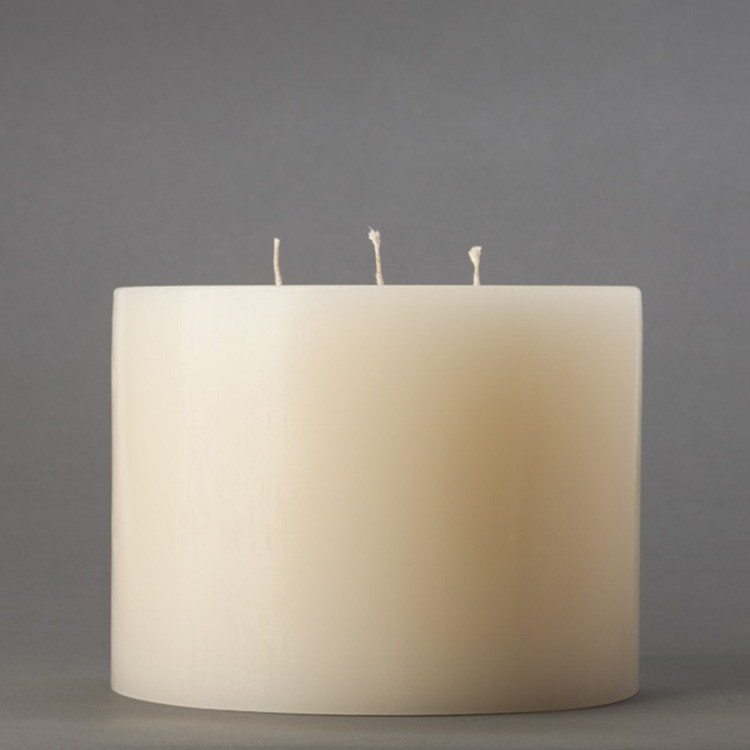 3 Wick Unfranced Pillar Candle