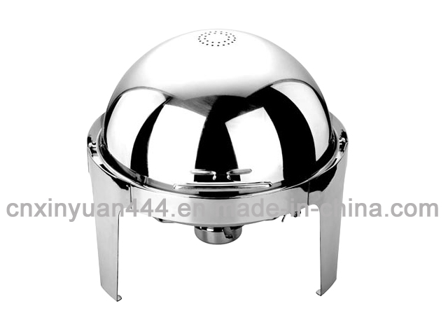 201 Hotel Ware Stainless Steel Roll Top Chafing Dish (FT-0205)