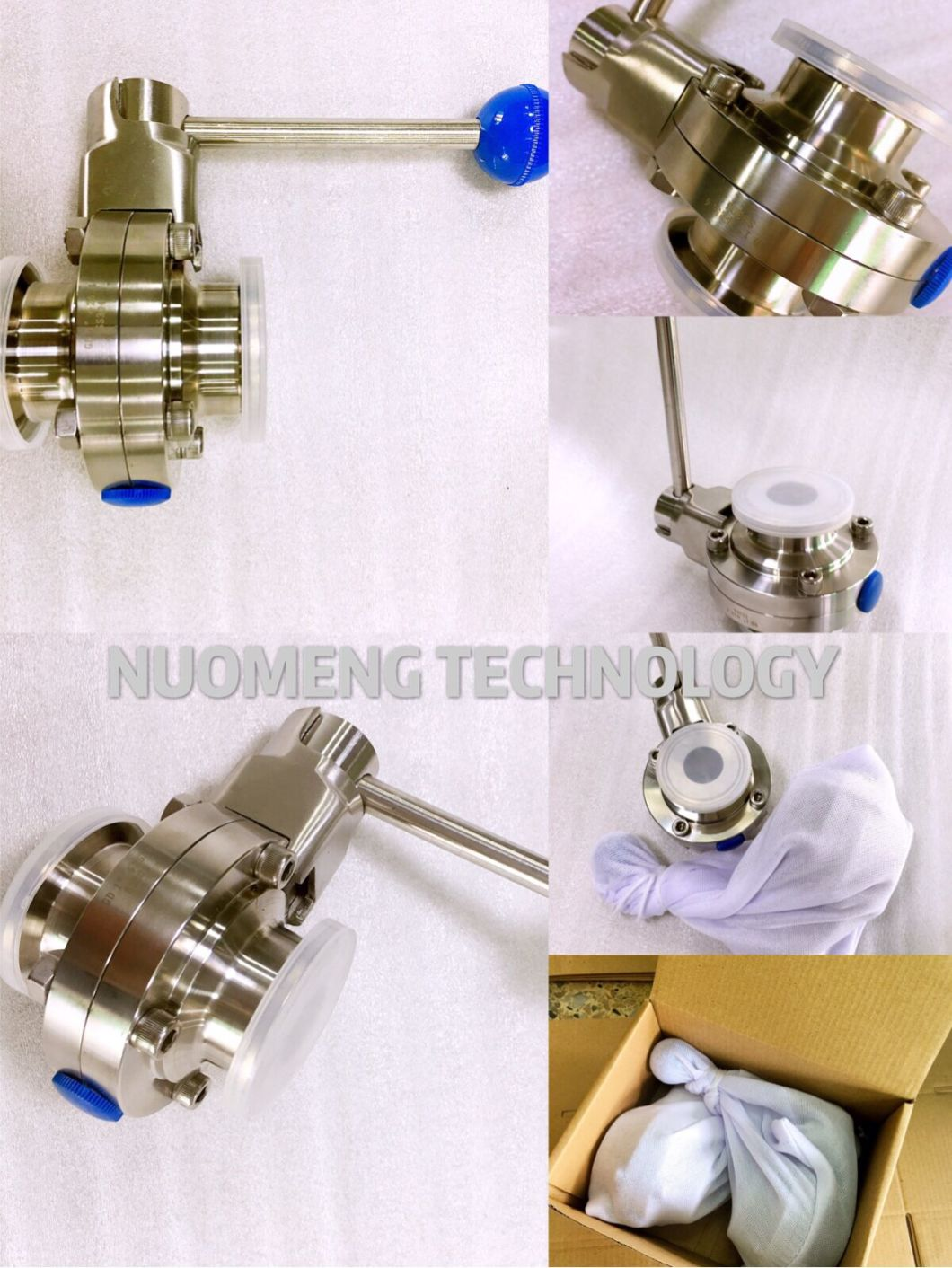 Stainless Steel Manual Welded Butterfly Valve (SMS-No. RD0212)