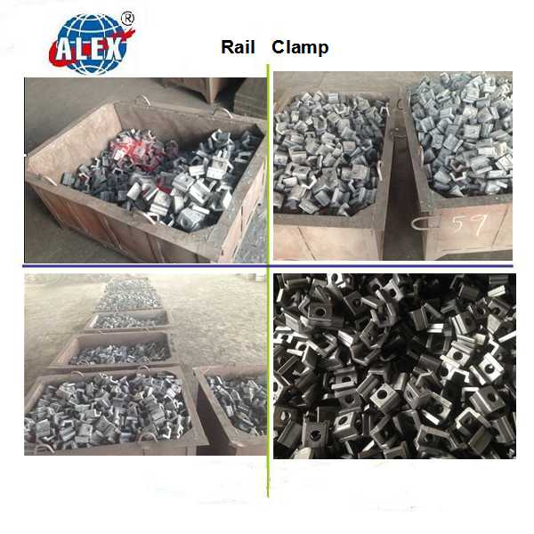ISO Certificated Railway Fasteners Supplier Rail Casting Clamp