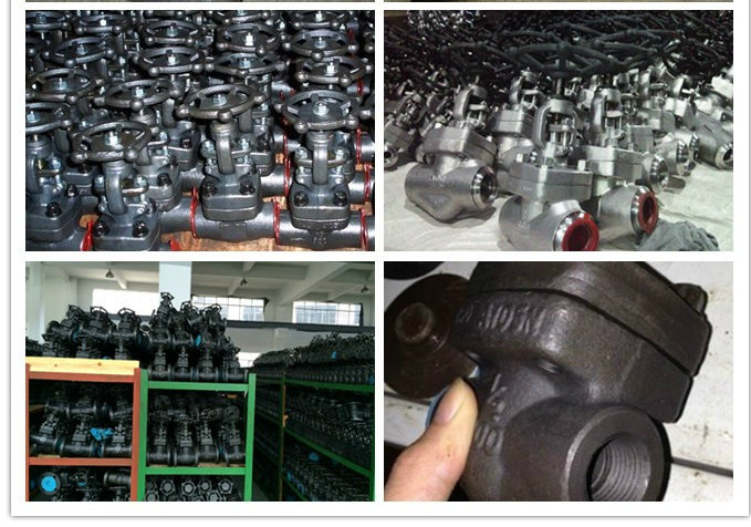 High Pressure Fully Welding Carbon Steel Forged Gate Valve