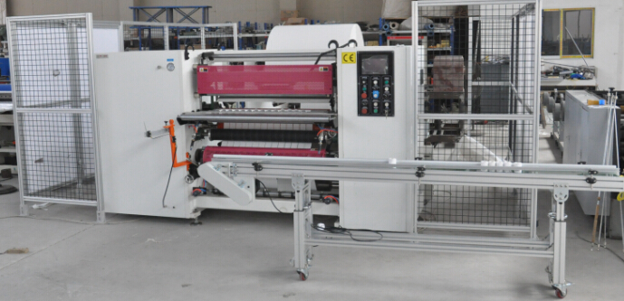 Double-Layer Thermal Paper Slitter Rewinder