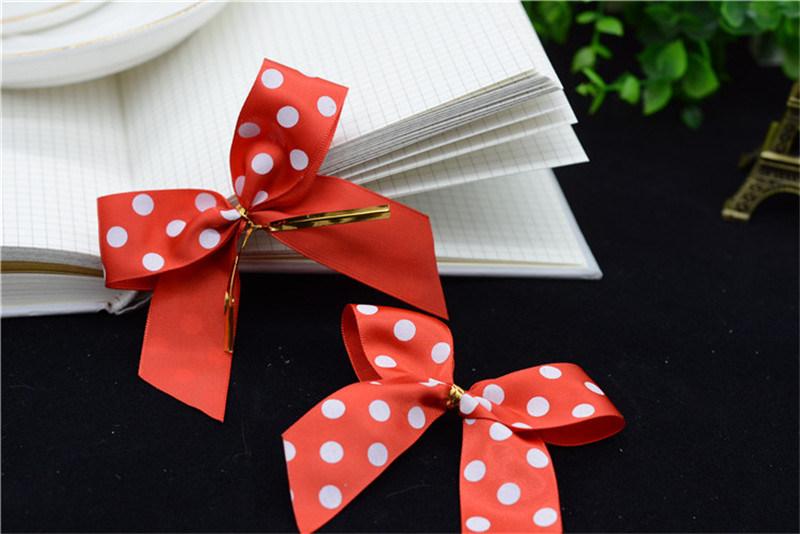 Wholesale Self Adhesive Pre-Made Elastic Christmas Grosgrain Ribbon