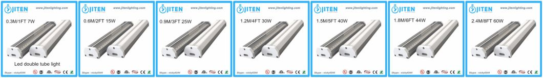 LED Linear Tube Light 1FT to 8FT Top in USA Canada, Double T5 Tube Light Fixture