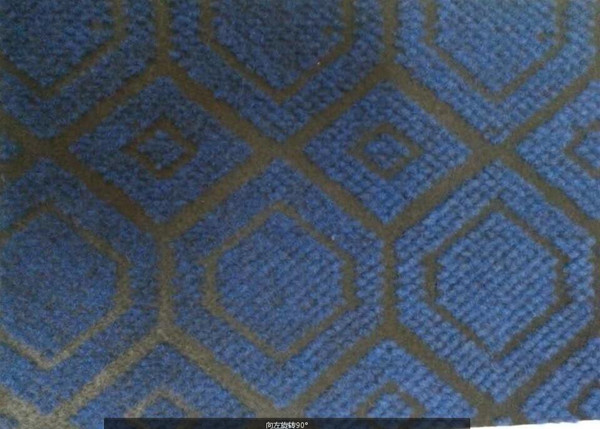 Needle Punch Carpet Jacquard of Polyester Velour