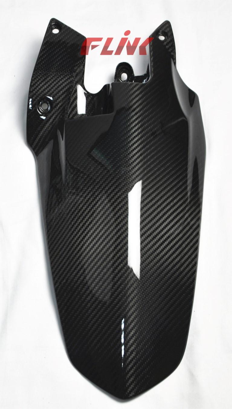 Carbon Fiber Rear Hugger for Ducati Streetfighter