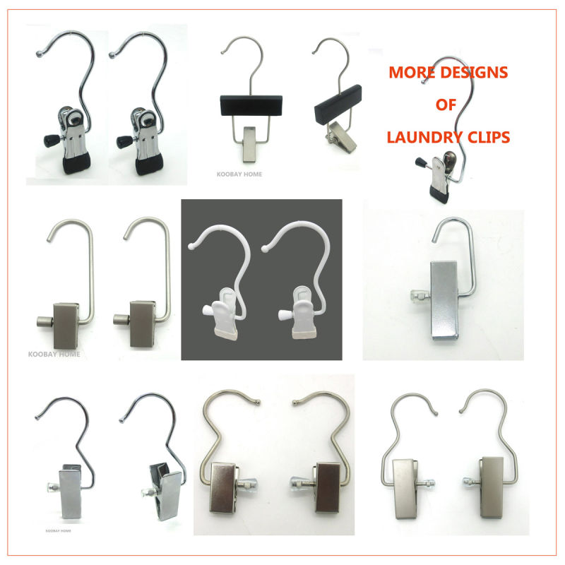 Wholesale Swivel Hook Metal Boots Cloth Hanger Clip