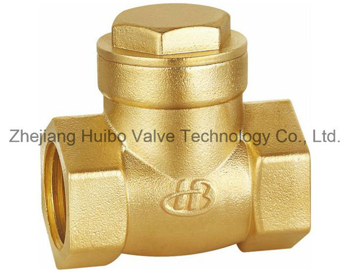 Horizontal Type Brass Check Valve with Female Thread