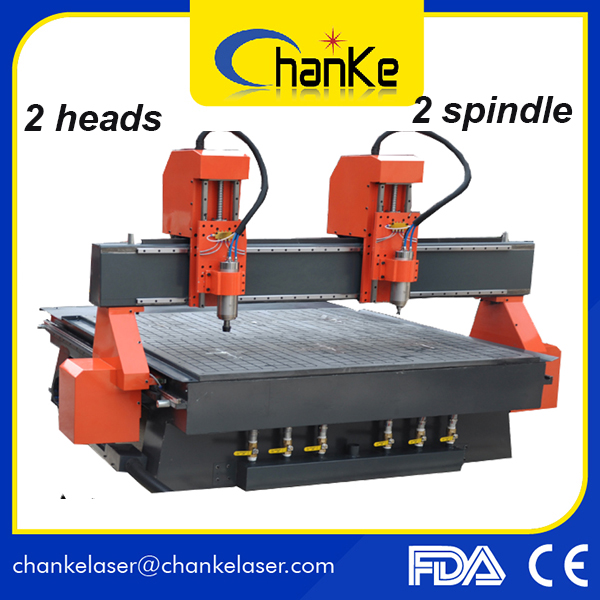 Furniture Crafts Stairs Wood Chair Wood CNC Router Engraver