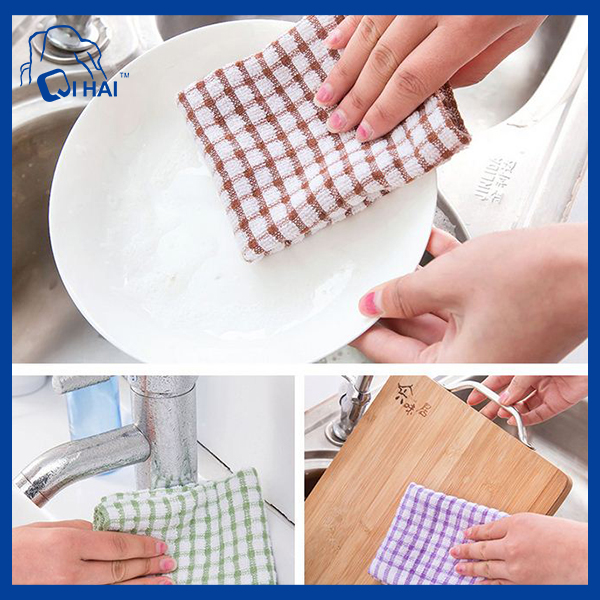 Cotton Kitchen Dish Clean Towel (QHK66769)