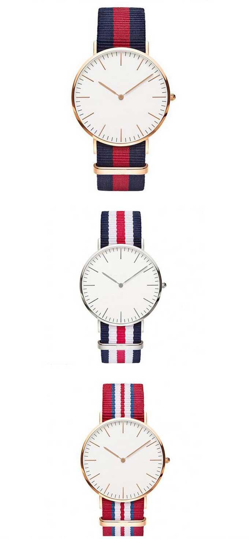 Yxl-472 Fashion Hot Sale Dw Men Watch Luxury Quartz Hight Quality Wrist Watch Nylon Band Nato Straps Watch