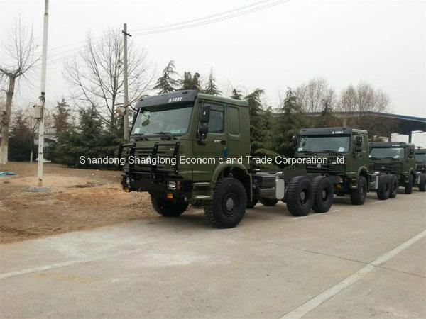 6X6 Awd Sinotruk 290HP Cargo Transport HOWO Truck