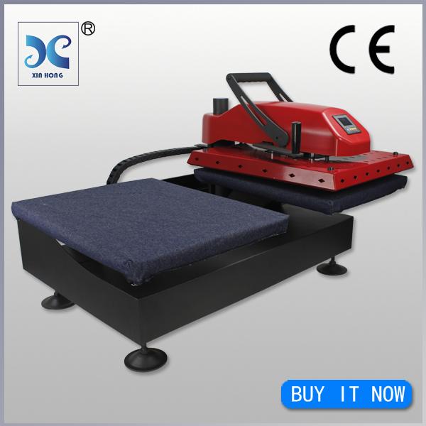 Xinhong Large Format Heat Press Machine 38*38, Dual Heat Press Machine for Garment