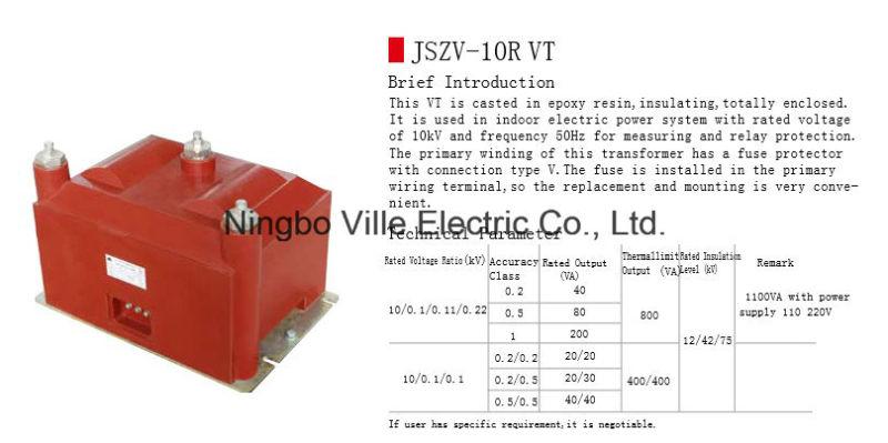 Potential Voltage Transformer (PT, VT) Instrument Voltage Transformer Measurement Transformer
