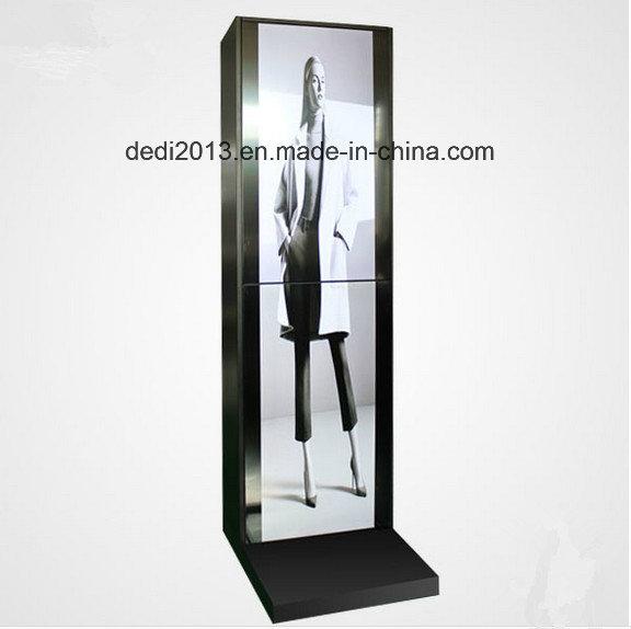 55 Inch Floor Standing Digital Signage Portrait Portable Display LCD Digital Display