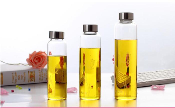 OEM/Customized High Borosilicate Glass Transperent Air Tight Glass Jar