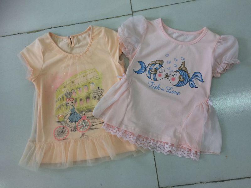 Little Girls Clothing Children Clothes Kids Wear Dresses in Flower Dress Frocks