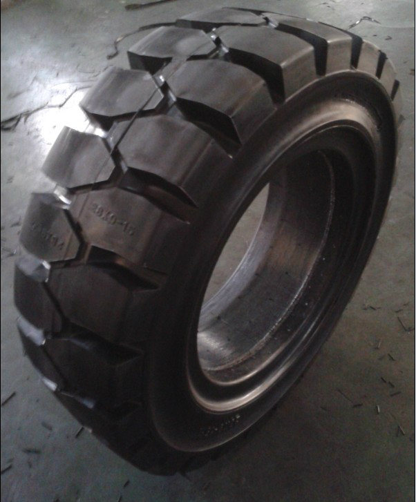 Solid Tire, Solid Forklift Tires, Solid Rubber Tires, Solideal Tires for Forklift