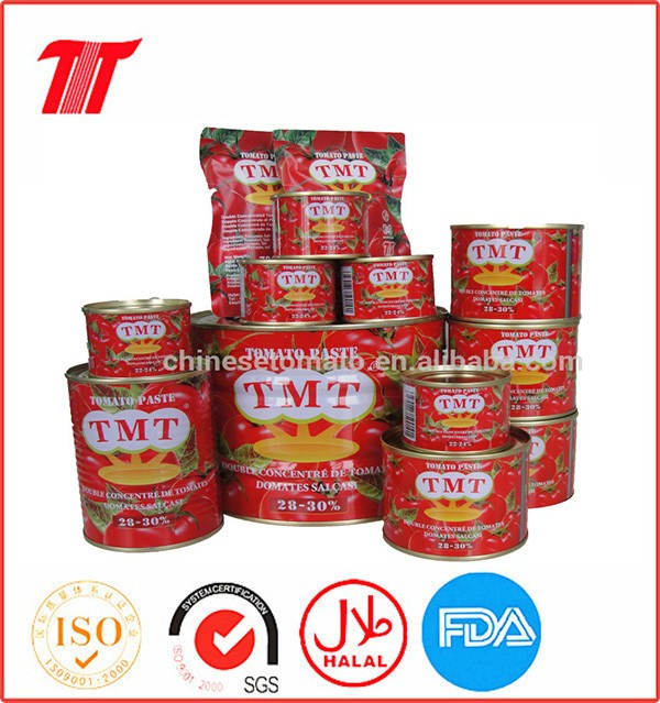 Aseptic 70 G, 210 G, 400 G, 800 G, 2.2 Kg Tomato Paste with Best Price and High Quality