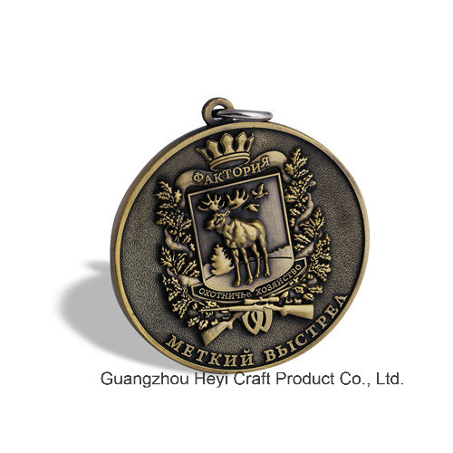 Gold Plated Badge, Organizational Crafts (GZHY-BADGE-076)