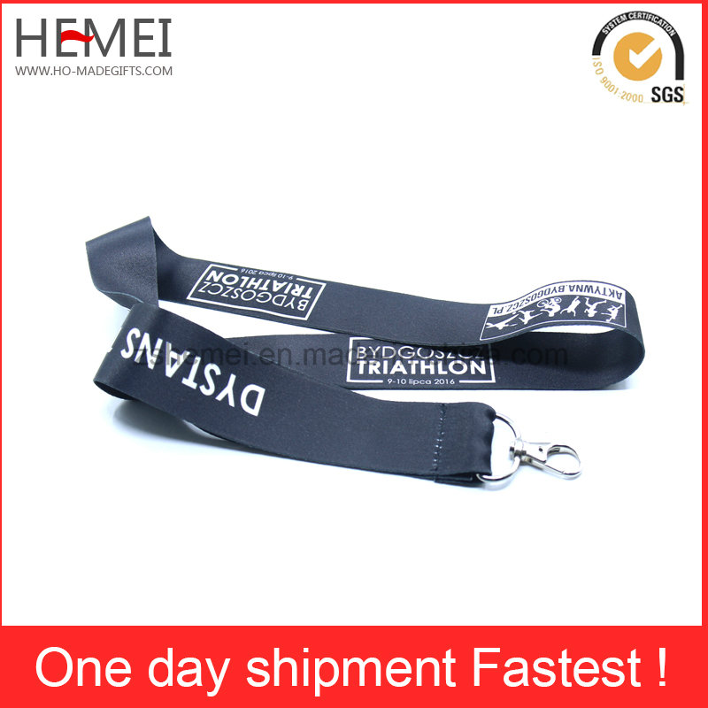 Fashion Cheap Polyester Neck Wallets Lanyards