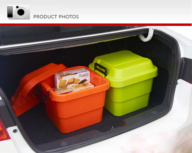 Large New Design Cheap Colorful Household PP Plastic Storage Box for Household