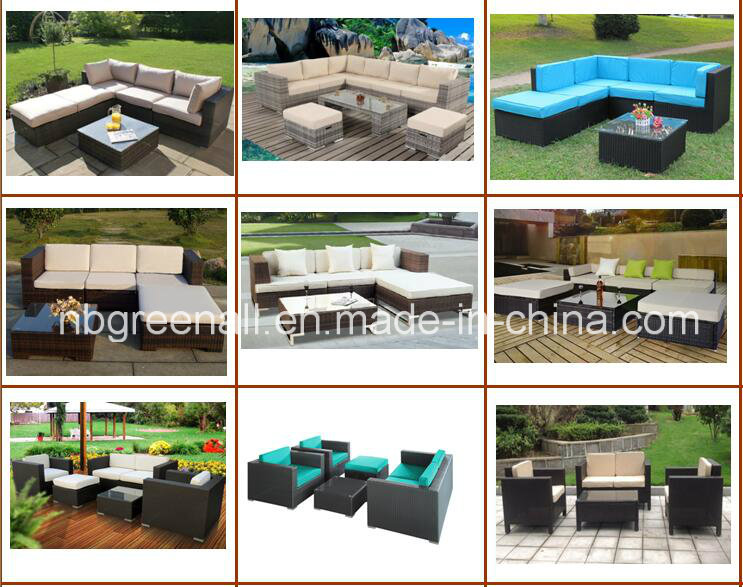 Latest Elegant Patio Rattan Chat Group Furniture