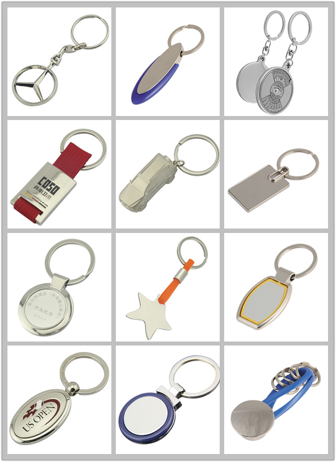 Promotion Gifts Wholesale Metal Key Holder with Company Logo (F1001)