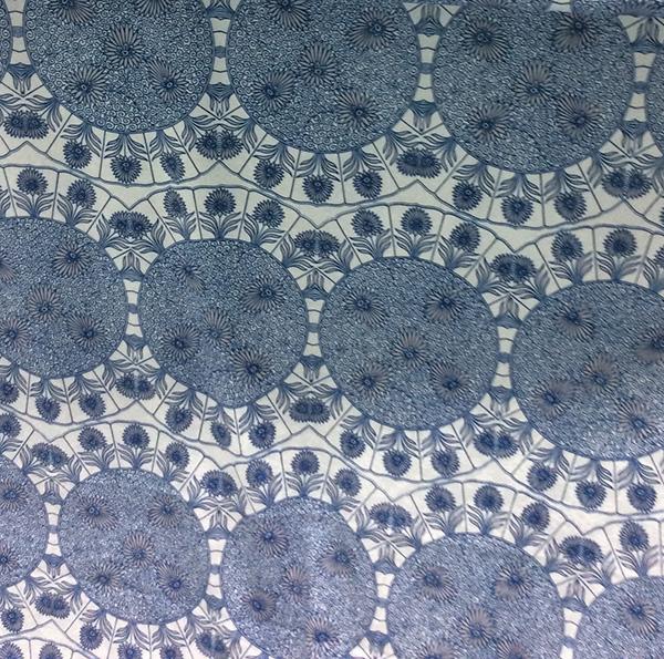 New Designed Polyester Chiffon Woven Garment Fabric