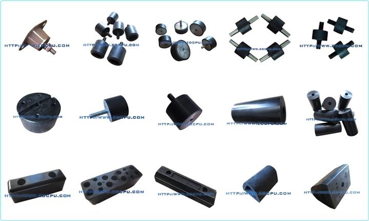OEM Brake System Rubber Bumper Parts / Brake Cushion Disc Diaphragm Pad