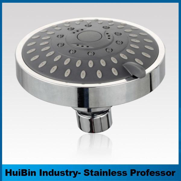 Bathroom Accessory 4-Inch 5 Functions Top Spray Shower Head