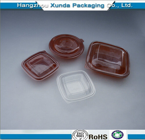 Plastic Container for Fast Food
