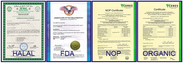 Natural Cosmetic Pigment Gardenia Yellow EU E10-E500