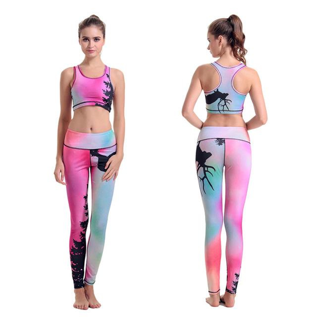 Custom OEM Women Sport Lovely Fitness Leggings
