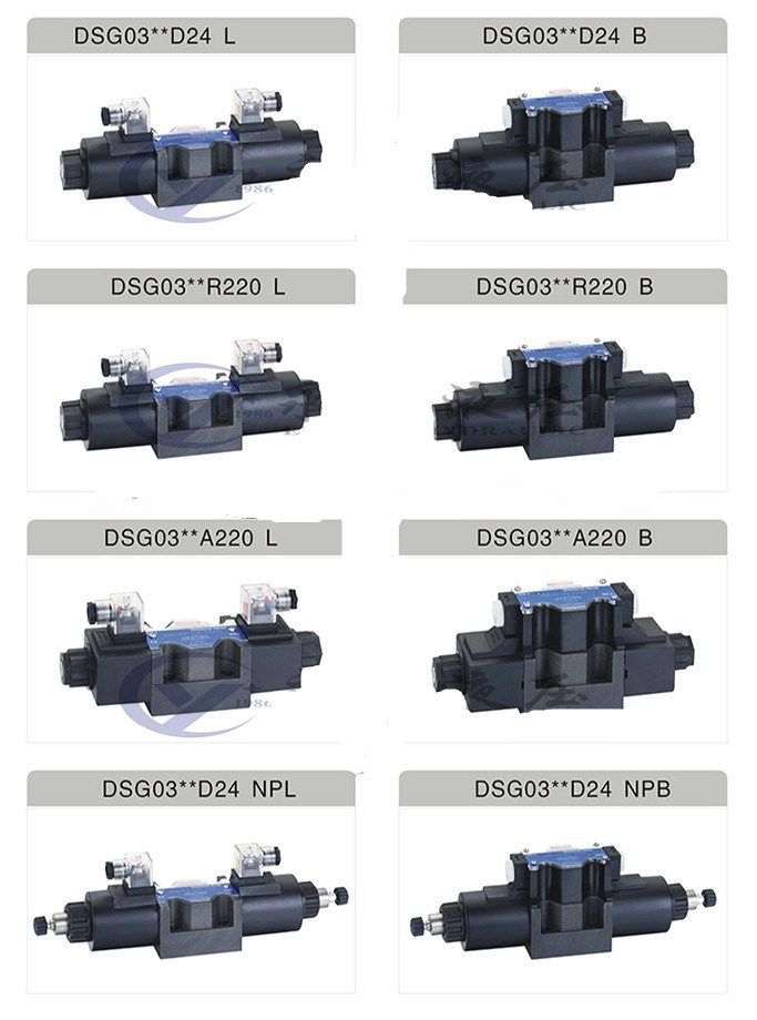 High Quality Hydraulic Solenoid Directional Control Valve DSG-02-3c4-Lw-A220