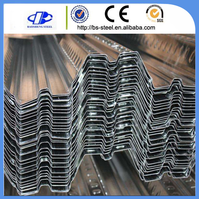Galvanized Steel Floor Deck Roofing Sheet Corrugated Sheet
