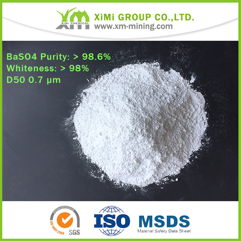 Precipitated Barium Sulphate Inorganic Additives for Special High-Quality Coatings