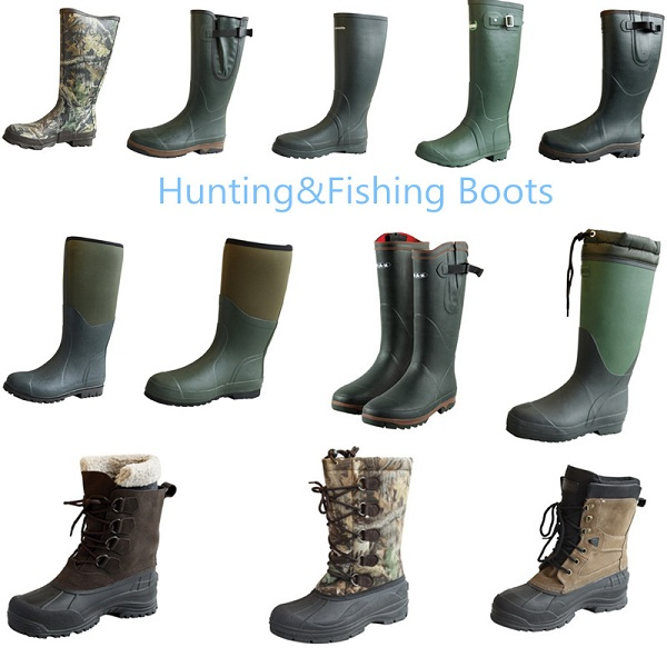 Mens Fishing/Working Rain Rubber Boots