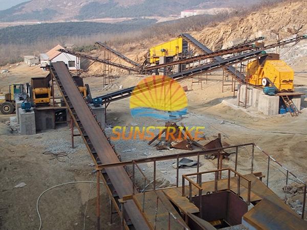 New Type Professional Stone Crushing Sites