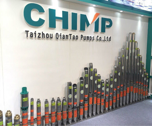 Chimp Single Phase Submersible Centrifugal Electric Water Pump for Deep Well