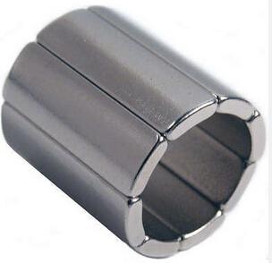 Permanent Magnet Tile for High Work Temp Motor