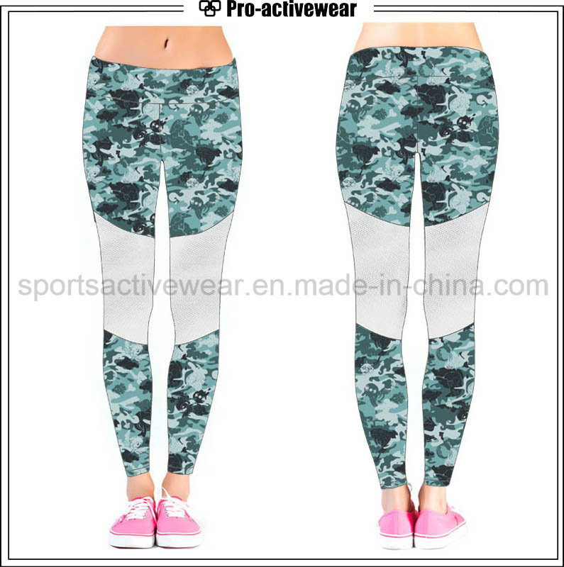 Sublimated Gym Wear Running Exercising Yoga Pants