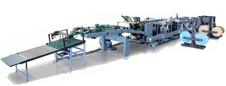 Automatic Energy Saving Flexo Printing Kraft Paper Bag Making Machine