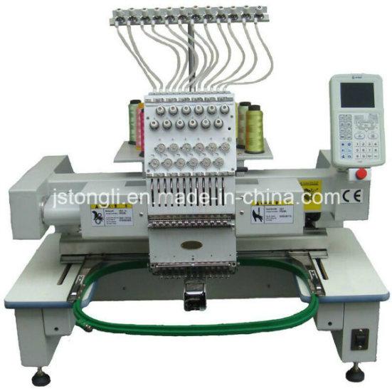 Single Head Desktop Tubular Cap Embroidery Machine (TLC-1201)