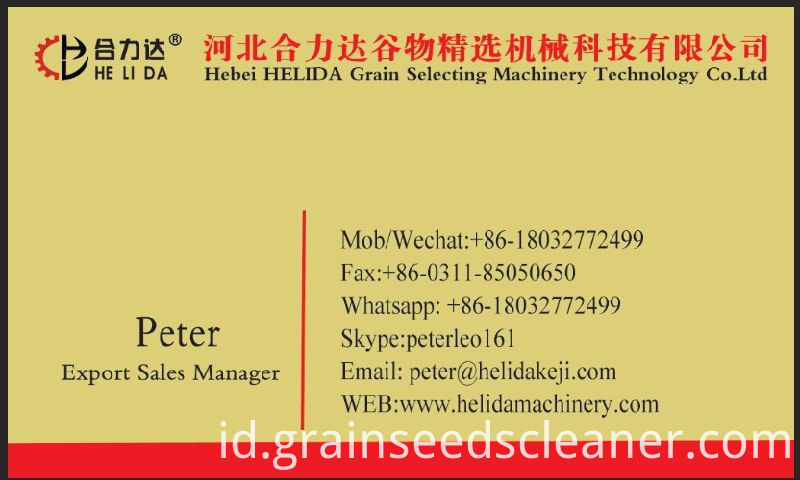 Coriander Seed Cleaner & Grader / Dry Herb Seed Cleaning Machine